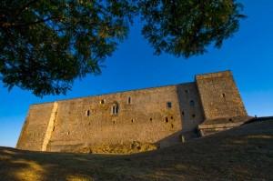 Ultimi raggi di sole su CastelLAgopesole