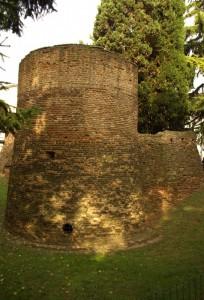 Quel che resta della rocca di Castel Bolognese