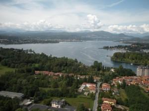 Panorama del basso Verbano