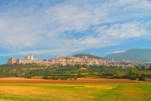 Assisi - Panorama di Assisi