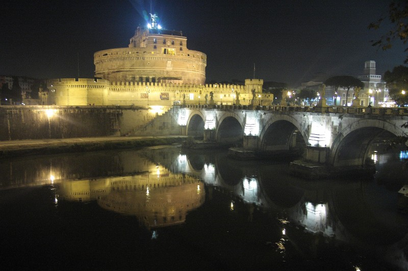 ''Castel Sant'angelo e il suo ponte'' - Roma