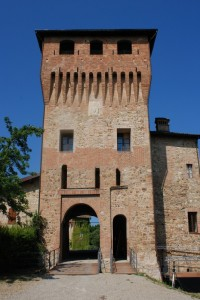 Casalgrande, ingresso al castello