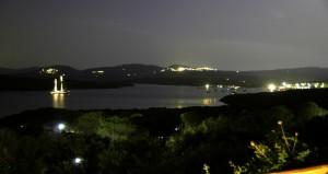 la notte a Conca Verde