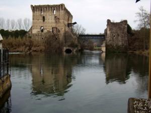 Il ponte levatoio visconteo