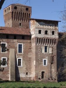 Castello di Balocco, dettaglio, anno 1423, Balocco, Piemonte