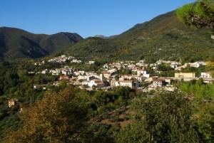 Il panorama di Raviscanina