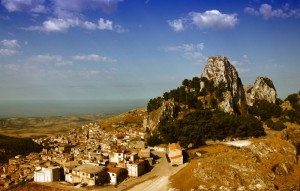 Il monte Castello Caltabellotta