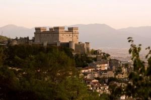 """Panorama del """" Castello Piccolomini di Celano """""""