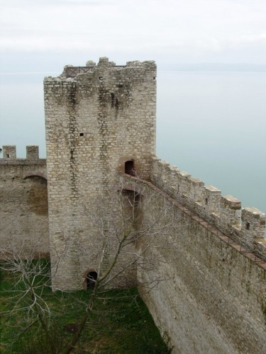 Castiglione del Lago - La torre tra le mura