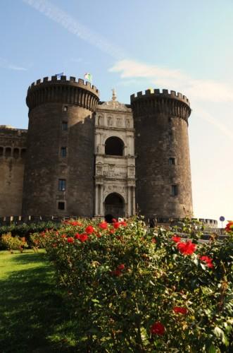 Napoli - il maschio con le rose