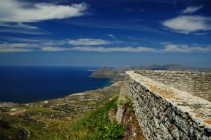 """Una """"terrazza"""" sul Golfo di Bonagia"""