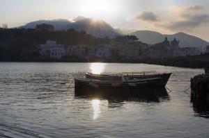 Veduta di Ischia porto da castello Aragonese