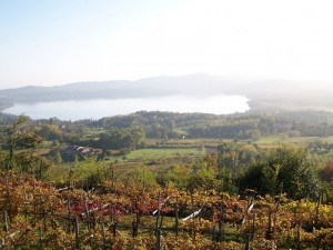 L'autunno sul lago di Viverone