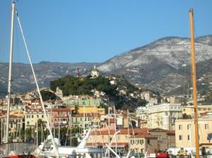 Sanremo vecchia vista dal Porto vecchio