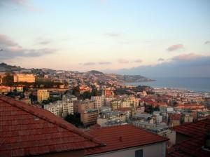 panorama dalle colline al pomeriggio