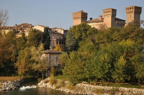 Vignola - Panoramica del castello di Vignola