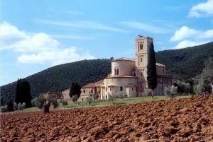 Terre toscane…e Abbazia di Sant'Antimo