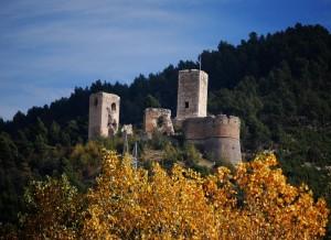 popoli e ul suo piccolo castello