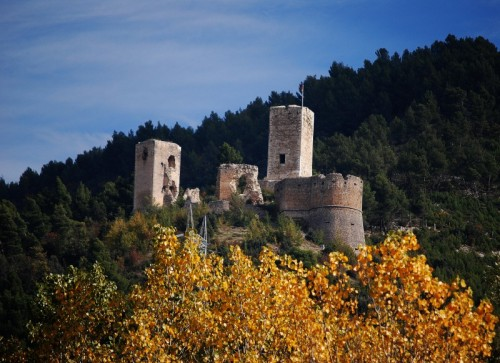 Popoli - popoli e ul suo piccolo castello