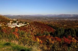 Vallinfreda in autunno