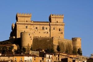 """Al Tramonto """" Castello di Celano """""""