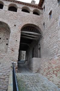 la via del castello