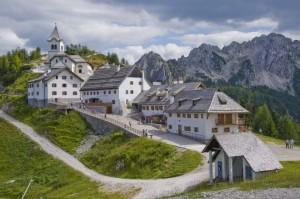 Il Santuario di monte Lussari