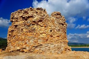 Porto Ferro: la Torre di Bantine Sale - primo piano
