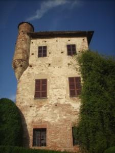 La torre del castello sbuffa