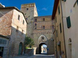 Paganico - Porta senese