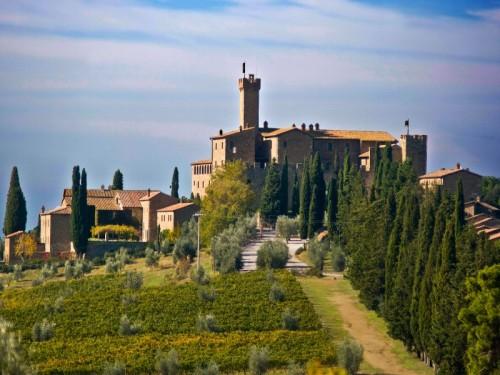 Montalcino - Castello Banfi - Poggio alle Mura