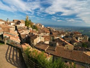 veduta del borgo medioevale