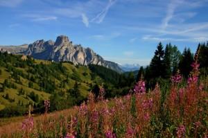 Le montagne di Corvara in Badia