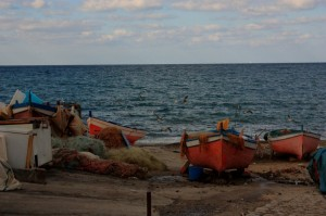 Barche in attesa…