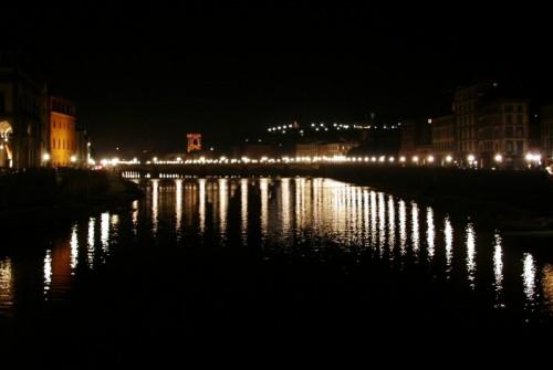 Firenze - panorama notturno