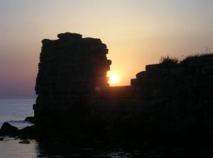 Ennesima alba di antiche mura di cinta