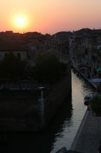 sera lungo il canale