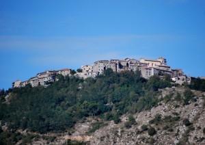 arroccata sui monti Prenestini