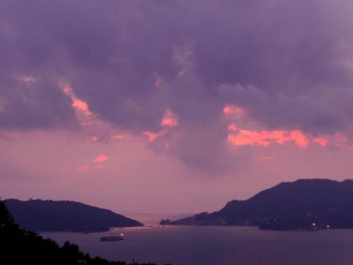 Portovenere - Golfo di La Spezia...tramonto d'ottobre