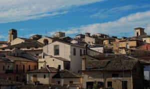 Panorama dei tetti del quartiere Civitanova