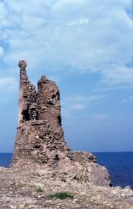 Torre sul mare calabrese