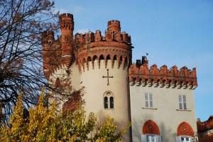scorcio del castello di Favria