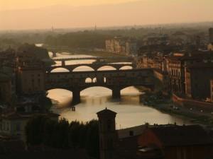 Serata romantica a Firenze