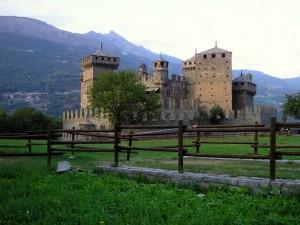 Il castello, e che castello.