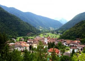 panorama di Bezzecca