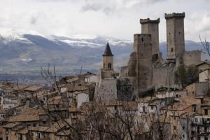 Torri e tetti di Pacentro