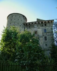 … il retro del Castello