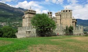 Il castello in estate