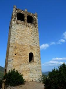 Torre di accesso alla frazione castello