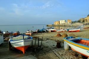 Aspra, le barche dei pescatori